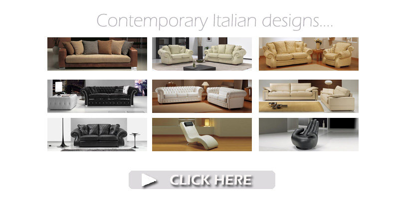 Italian Leather Sofas and Fabric Suites for sale UK ...