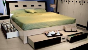 contemporary italian bed picture