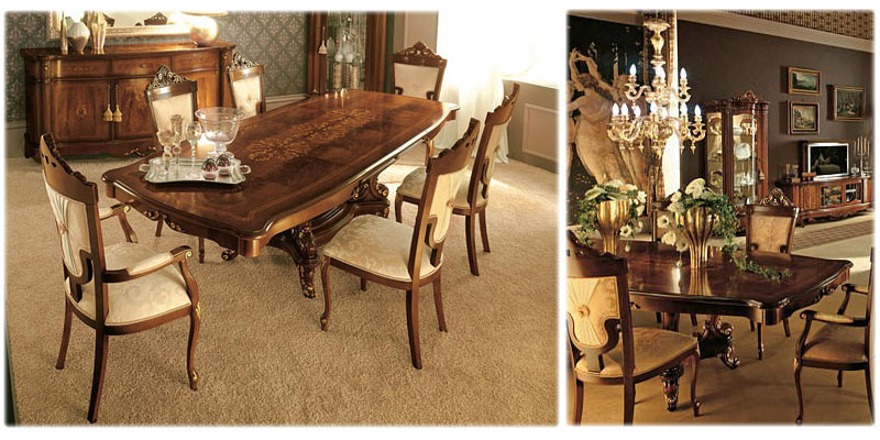 The Venere Italian Dining Room And Living Furniture