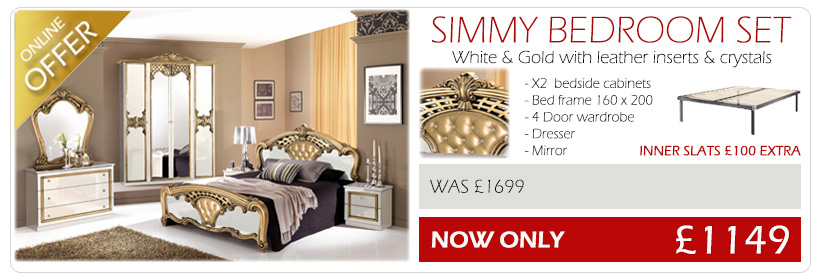 Simmy-bedroom-gold-leather