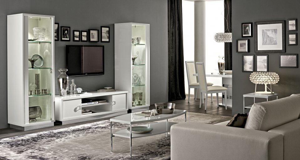 white high gloss furniture