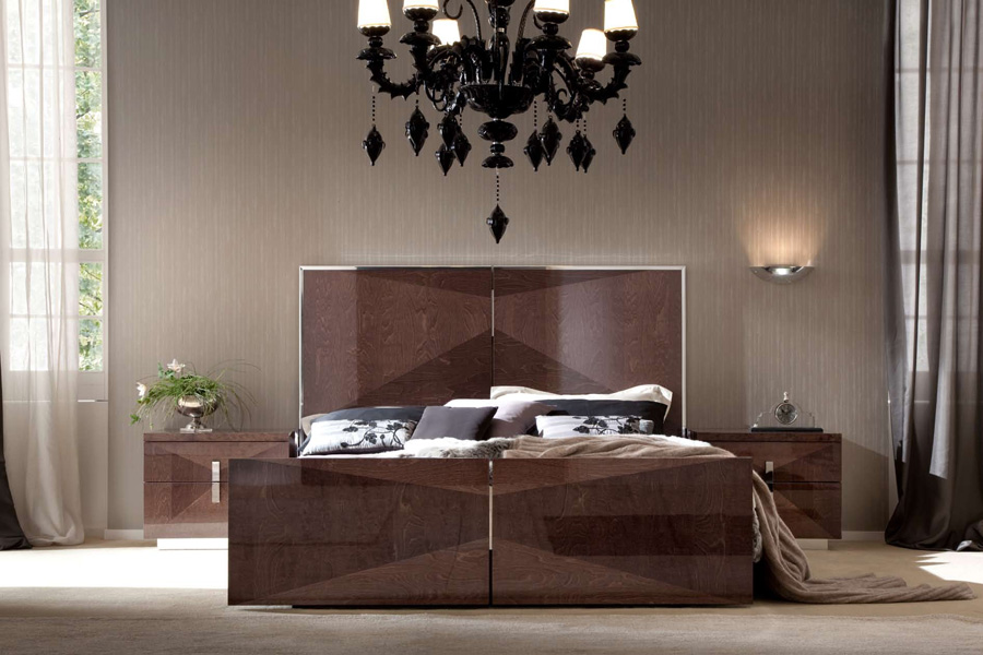 The Casa Italian Bedroom Collection Consists Of Bed Night Tables