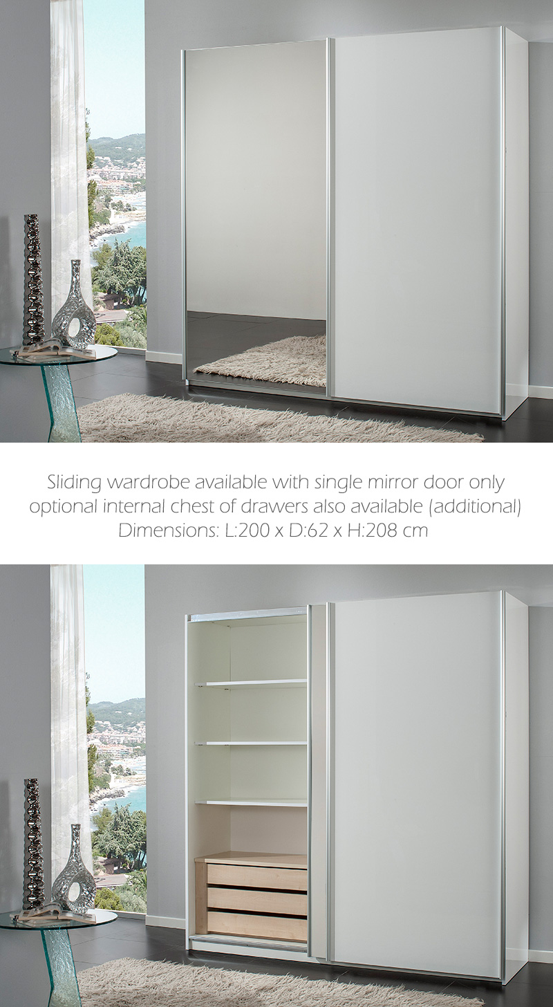 white-high-gloss-sliding-wardrobe