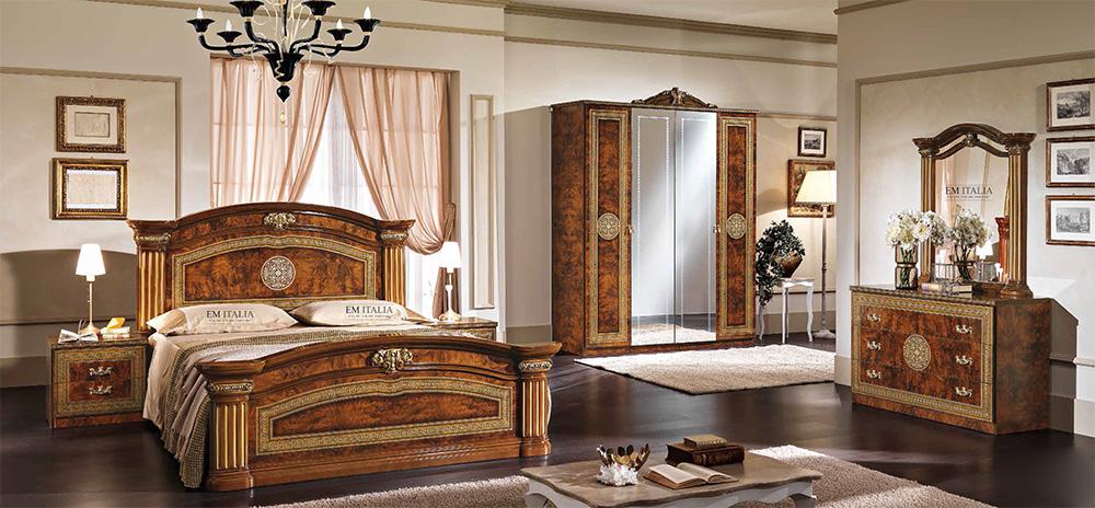 Alex-classic-italian-bedroom-set-walnut