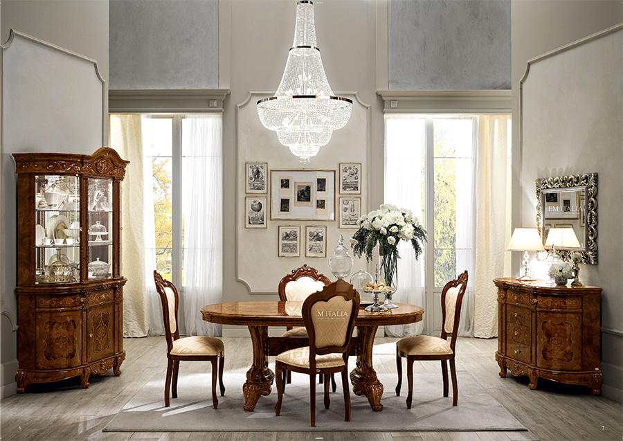 Walnut-classic-italian-dining-furniture