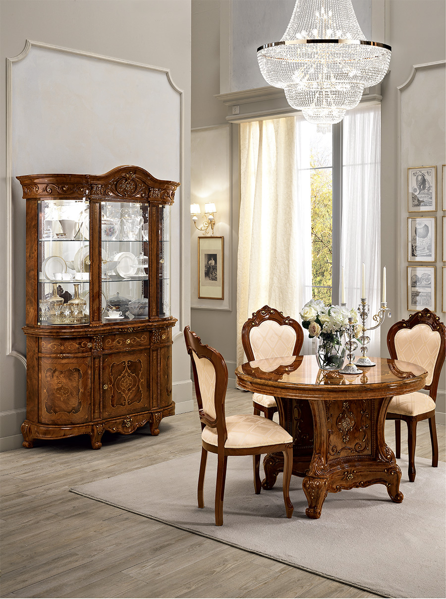 italian-classic-dining-table-cabinets